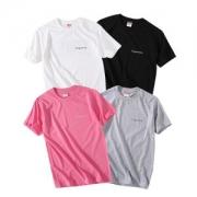 2017 年度目引きアイテム シュプリーム SUPREME 半袖Tシャツ 多色 男女兼用_品質保証