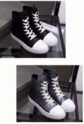 より柔らかくて履きやすい RICK OWENS 、リックオウエンス  ブーツ 大人っぽい._品質保証