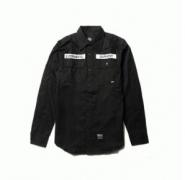人気高いNEIGHBORHOOD ネイバーフッド ブラックシャツ コピー長袖シャツ_品質保証