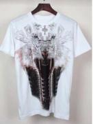 やわらかな肌触りMARCELO BURLON マルセロバーロン コピー 狼柄 プリント半袖Tシャツ 流行り_品質保証