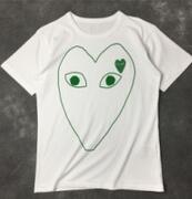 刺繍入りロゴ COMME des GARCONS コムデギャルソン コピーTシャツ 爽やか半袖 Uネック_品質保証