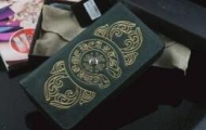 上質な風合いCHROME HEARTS クロムハーツ 長財布  ブラック ナチュラルなレザー_品質保証