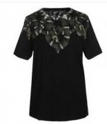 抜群の爽やかMARCELO BURLON マルセロバーロン tシャツメンズ コットンTシャツ半袖_品質保証