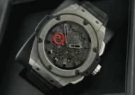 HUBLOT ウブロ 時計メンズウォッチ キングパワー アリンギ自動巻き 6針 日付表示 46MM ラバー 710.CI.0110.RX.AGI10_品質保証