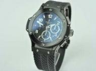 hublot時計 メンズウブロ ビッグバン スーパーコピー ブラック自動巻き 6 セラミック ラバー301.SX.130.RX_品質保証