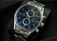 TAG HEUER タグホイヤーカレラ クロノグラフ キャリバー1887 メンズ時計 ブルー文字盤男性用腕時計CAR2115.FC6292_品質保証