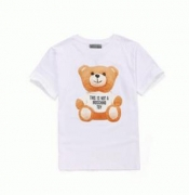 カジュアルMOSCHINO モスキーノ tシャツ ロゴ入り ラウンドネックコットン綿 メンズ レディース半袖tシャツ0707 440 3001_品質保証