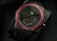 スーパーコピー タグホイヤーtag heuer フォーミュラ1 ウォッチ 人気 おしゃれ時計 メンズブラックレッド レザー_品質保証