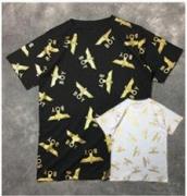 ゴールドロゴ tシャツボーイロンドン BOY LONDON tシャツコットンメンズ 半袖 tシャツ ブラックホワイト クルーネック_品質保証