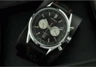 タグホイヤー 時計 TAG HEUER  男性用腕時計 カレラ クロノグラフ キャリバー17 ブラック文字盤 シルバー CV211D.FC6310_品質保証