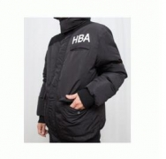 HOOD BY AIR フッドバイエアー コピー 通販中綿ジャンパー メンズファッション 長袖ダウンジャケット 防寒 ブラックアウター コート_品質保証