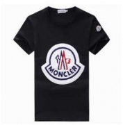 2017 春夏ファッションMONCLER モンクレール コピー 通販新作 メンズ半袖tシャツ シンプル コットン ロゴプリント クルーネック_品質保証
