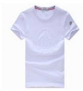 人気新品MONCLER モンクレール 偽物 メンズ半袖Tシャツ クルーネック コットン ブラックホワイト イエロー グレー夏ファッション_品質保証