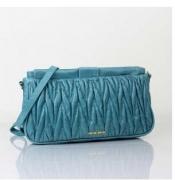 レディース バッグMIUMIU ミュウミュウ コピー レザーバッグ マテラッセ ブルー ショルダーバッグ 女性用 鞄_品質保証