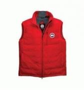 CANADA GOOSE カナダグース ベスト メンズ ダウンジャケット フリースタイルベスト レッド レディース服_品質保証