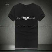 新着 春夏新作入荷 ARMANI アルマーニ 偽物 人気 半袖 Tシャツ メンズ ブラック ホワイト コットン クルーネック カジュアルTシャツ_品質保証