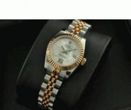 ROLEX ロレックス レディース 時計 デイトジャスト 人気ウォッチ 女性用腕時計 ゴールド シルバー 自動巻き生活防水_品質保証