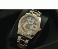 ROLEX ロレックス 人気 デイトジャスト 恋人腕時計 ウォッチ 日付表示 高級 時計 ゴールド ダイヤベゼル 高品質_品質保証