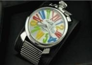 ガガミラノ GaGa MILANO スリム SLIM 46MM メンズ 5080.1 メンズ 時計 ミラネーゼブレス カラフル ユニセックス_品質保証