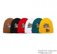 SUPREME  シュプリーム ニット帽 16FW Tom & Jerry Beanie トムとジェリービーニー ニットキャップ ブラック ホワイト 5色_品質保証