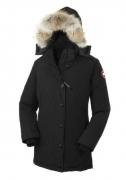カナダグース レディース 人気 CANADA GOOSE ジャスパー ダウンジャケット ロングダウン ブラック レッド 5色 品質保証 ファーフード付き