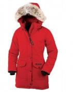 2017秋冬 CANADA GOOSE カナダグース レディース TRILLIUM PARKA FUSION FIT  ロングダウンジャケット ブラック ホワイト 多色
