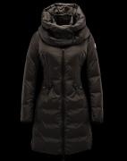 2017年秋冬 MONCLER モンクレール ダウン 人気 ジャケット ブラックレディースファッション ロングダウン 暖かい 軽量 高品質