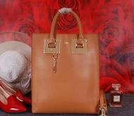 クロエ コピー トートバッグ お買い得新品 2017春夏新作 CHLOE バッグ レディース ブラウン レザー ゴールド ショルダー付き 上品 女性用バッグ