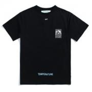 2018春夏新作 OFF-WHITE オフホワイト BLACK CARAVAGGIO S/S T-SHIRT Tシャツ 大人気 半袖omaa002s181850851088 ブラック ホワイト 綿