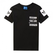 超人気美品半袖Tシャツ デザインadidasアディダス三つ葉ロゴプリントメンズレディーストップス人気最安価格新品男性服