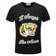 2色可選 グッチ GUCCI 半袖Tシャツ シンプルなデザイン 2018年流行 上品オトナ感