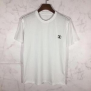 HOT品質保証ロゴ付きtシャツ快適インナーソフトライトブラックホワイトtシャツ活躍ブランド コピー スーパー コピー