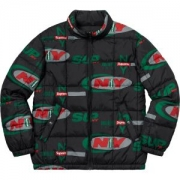 NEWトップス Supreme 18FW NY Reversible Puffy Jacket 2色可選 ダウンジャケット 通気性が良い