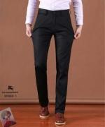 大人の定番 バーバリー スーパーコピー BURBERRY オシャレ ロングパンツ ブラック オールシーンズ メンズファッション