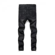 ヴェルサーチ スーパー コピー VERSACE ブラック パンツ ロングジーンズ カッコイイ メンズファッション ゆったり 品質保証