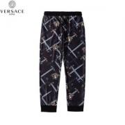 ヴェルサーチ パンツ メンズ コピー VERSACE ロングジーンズ スポーツウェア プリントパンツ ゆったり カジュアル 品質保証
