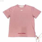 目を引くーデザインが特徴的  オフホワイト OFF-WHITE  半袖Tシャツ  2019春夏新作登場