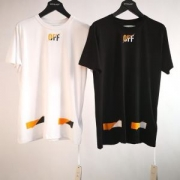 おすすめコーデ  半袖Tシャツ  オフホワイト OFF-WHITE    2019魅力的な新作  2色可選