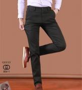 GUCCI スーパー コピー グッチ 三色可選 スーツパンツ ロングジーンズ オシャレ メンズファッション ストレッチ 生地