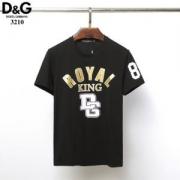 ブーム当確の春夏限定新作!ドルチェ&ガッバーナ メンズ トップス コピー Royal King Tシャツ ブラック ホワイト 最低価格