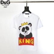 2019SSで魅力的な限定新作 Dolce & Gabbana ドルチェ&ガッバーナ メンズ トップス Panda King Tシャツ コピー 2色可選 最低価格