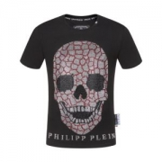 PHILIPP PLEIN tシャツ メンズ 個性派が必見の限定新品 フィリッププレイン コピー ブラック 最低価格 日常 コーデ