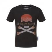 フィリッププレイン tシャツ メンズ 毎日でも使える人気新品 コピー PHILIPP PLEIN ブラック 通勤通学 カジュアル 激安