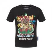 PHILIPP PLEIN フィリッププレイン tシャツ メンズ 今季で一番オススメなアイテム ブラック 激安 コピー 日常 プリント