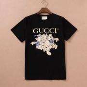 半袖Tシャツ カッコ良くキあります グッチ GUCCI 高級感がUP!  2色可選  雑誌にも掲載アイテム 2019トレンドスタイル!