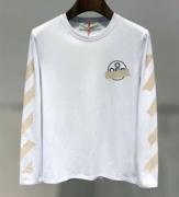 2019年秋冬新色続々登場 今季注目のトレンド着こなし Off-White オフホワイト 長袖Tシャツ 2色可選