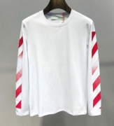 Off-White オフホワイト 長袖Tシャツ 2色可選 幅広いスタイルにコーディネート 流行色2019秋冬に取り入れたい