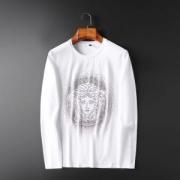 長袖Tシャツ 2色可選 最新のトレンド人気色をチェック 2019 AWコレクション人気 ヴェルサーチ VERSACE