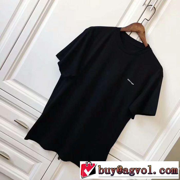 コピー ブランド 通販 安心_バレンシアガ BALENCIAGA 2020 流行アイテム 3色可選 半袖Tシャツ