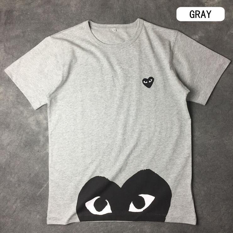 ブランド コピー s 級_ブランドロゴプリントCOMME des GARCONS コムデギャルソン 春夏 半袖Tシャツ  カジュアル